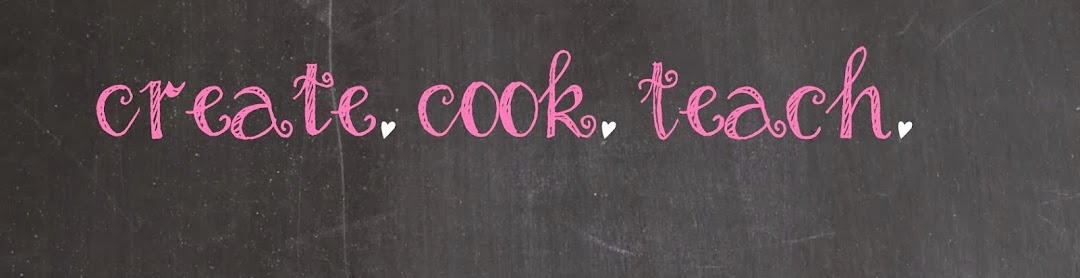 Create. Cook. Teach.