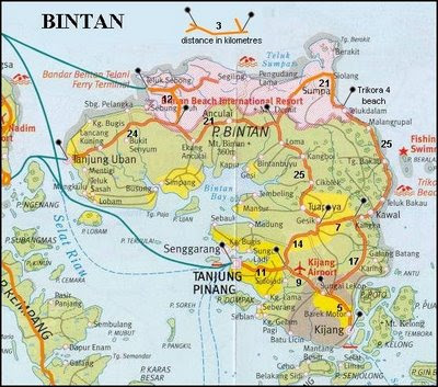 Peta Tanjung Pinang