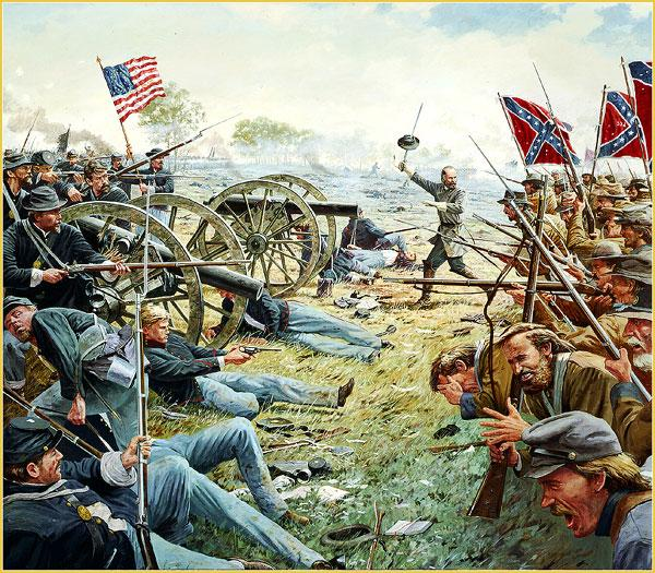 a history of the battle of gettysburg in the american civil war Military history american civil war battles & wars kennedy american civil war: battle of gettysburg thoughtco, mar 11, 2018, thoughtcocom/american-civil-war.
