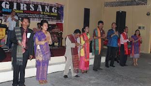 Sukses Pesta Bona Tahun Parsadaan Girsang di Jambi