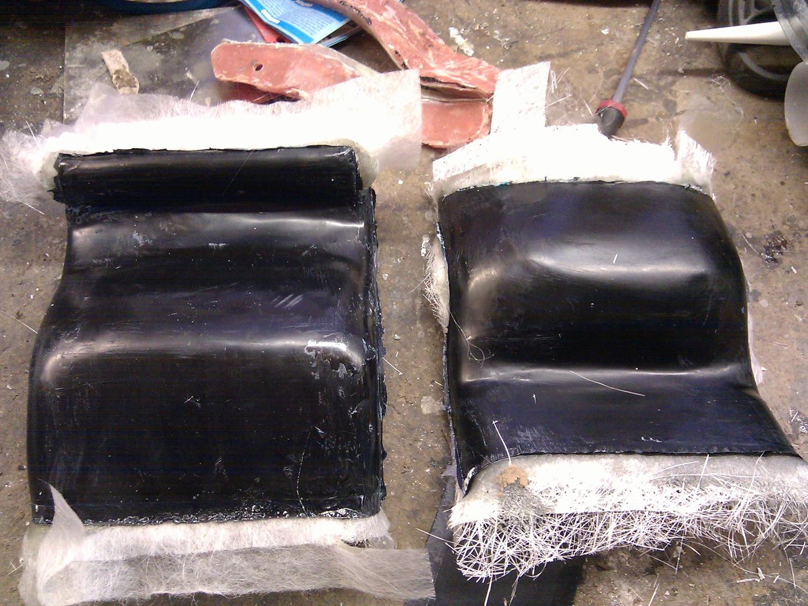 Custom Ram Air Ducts : Gsxr thunderbike custom ram air duct