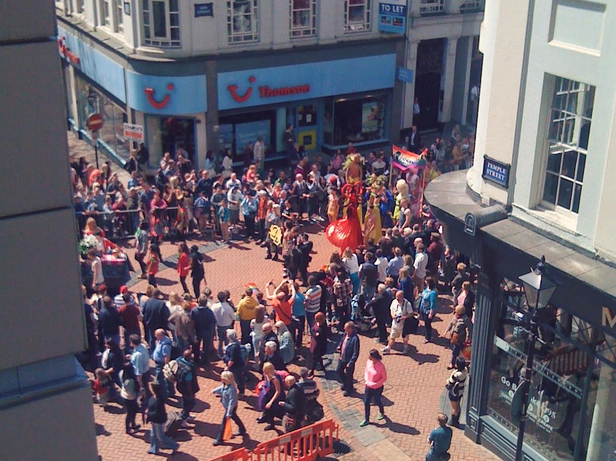 birmingham new street parade