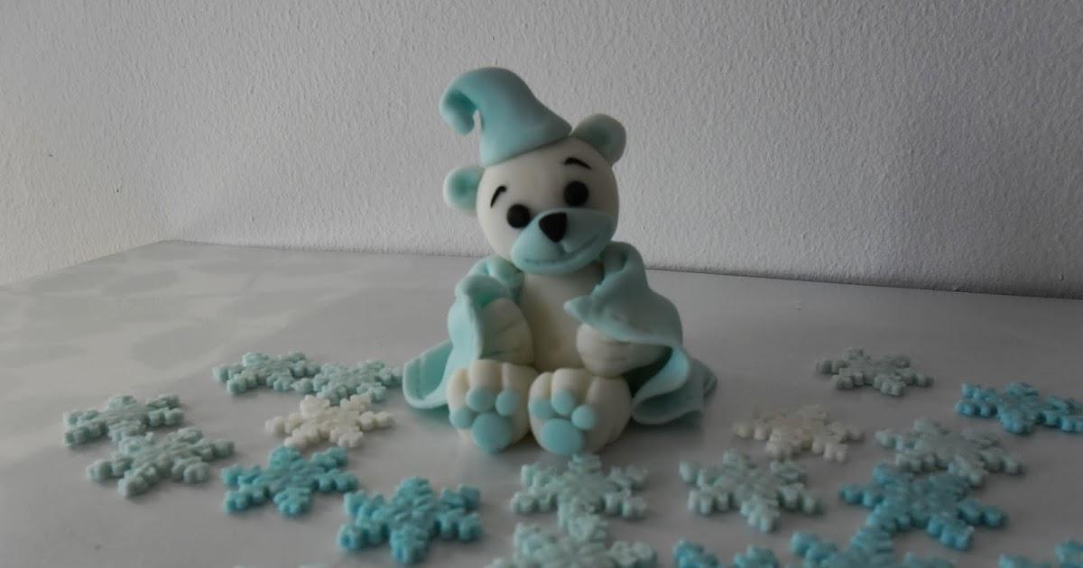 Comment faire un ourson en p te sucre pour d corer vos - Comment faire des decors en pate a sucre ...