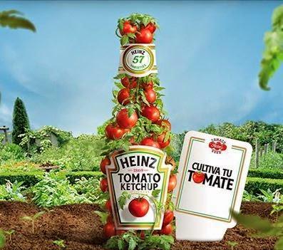 Semillas Gratis de tomate con Heinz