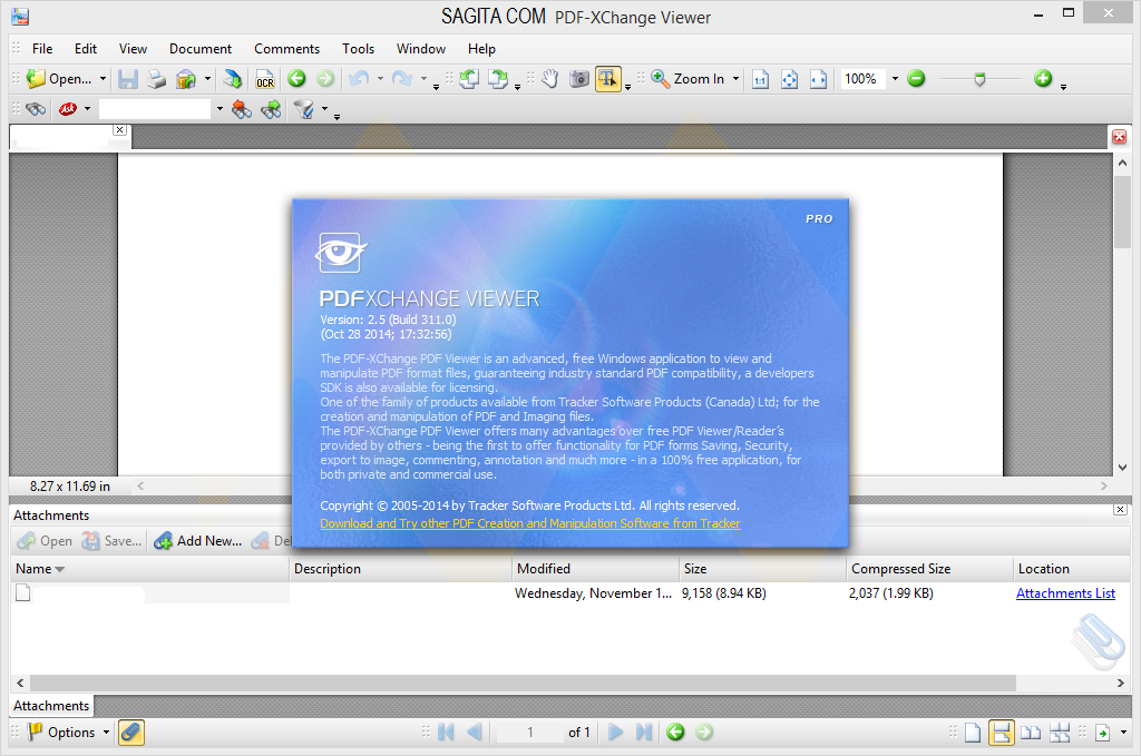 PDF-XChange Viewer 2.5