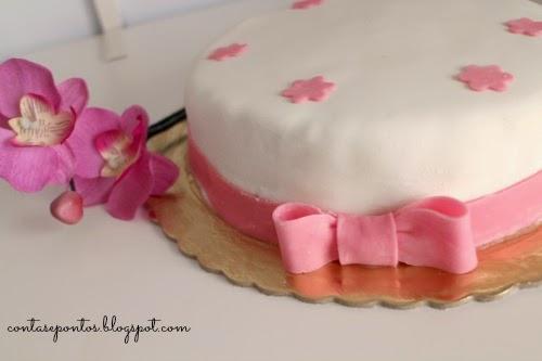 bolo aniversário - decoração pasta de açúcar