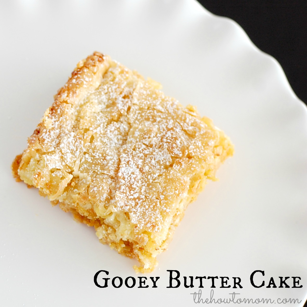 Gooey Butter Cake Recipe Yellow Cake Mix