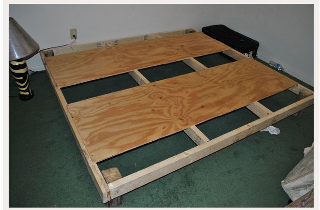 Cómo hacer cama estructura tatami?