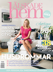 Reportage i Älskade Hem mars 2013