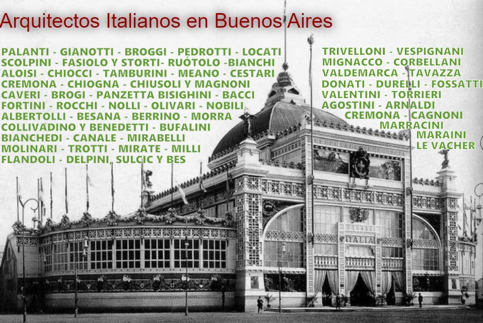 Arquitectos Italianos en Buenos Aires