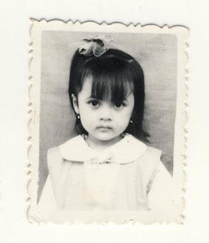 saya sudah cantik dari kecil =P