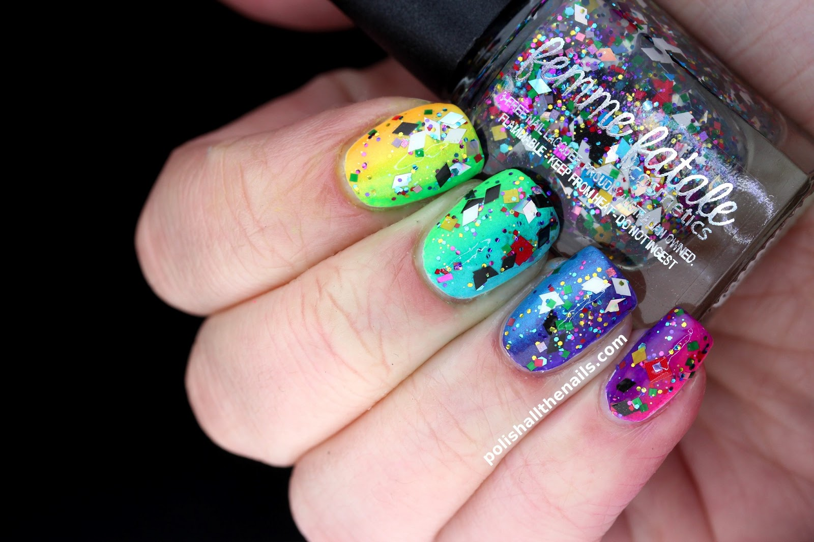 Femme Fatale Party Grenade Is So Packed Full Of Square Diamond Hex Matte Shiny Holo And Misc Glitter I Can T Even Find Words To Describe How Amazing It
