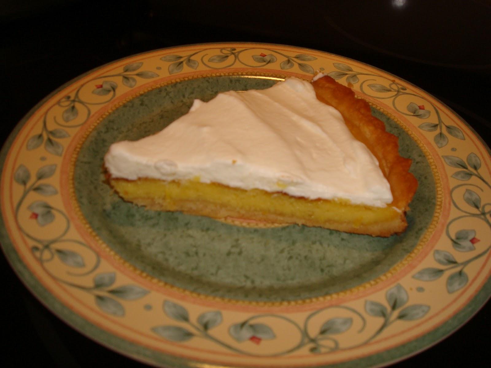 mocha me: Rustic Meyer Lemon Tart