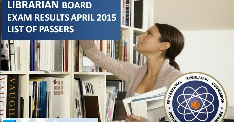 List Of Passers April 2015 Librarian Board Exam Results