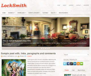LockSmith Blogger Template