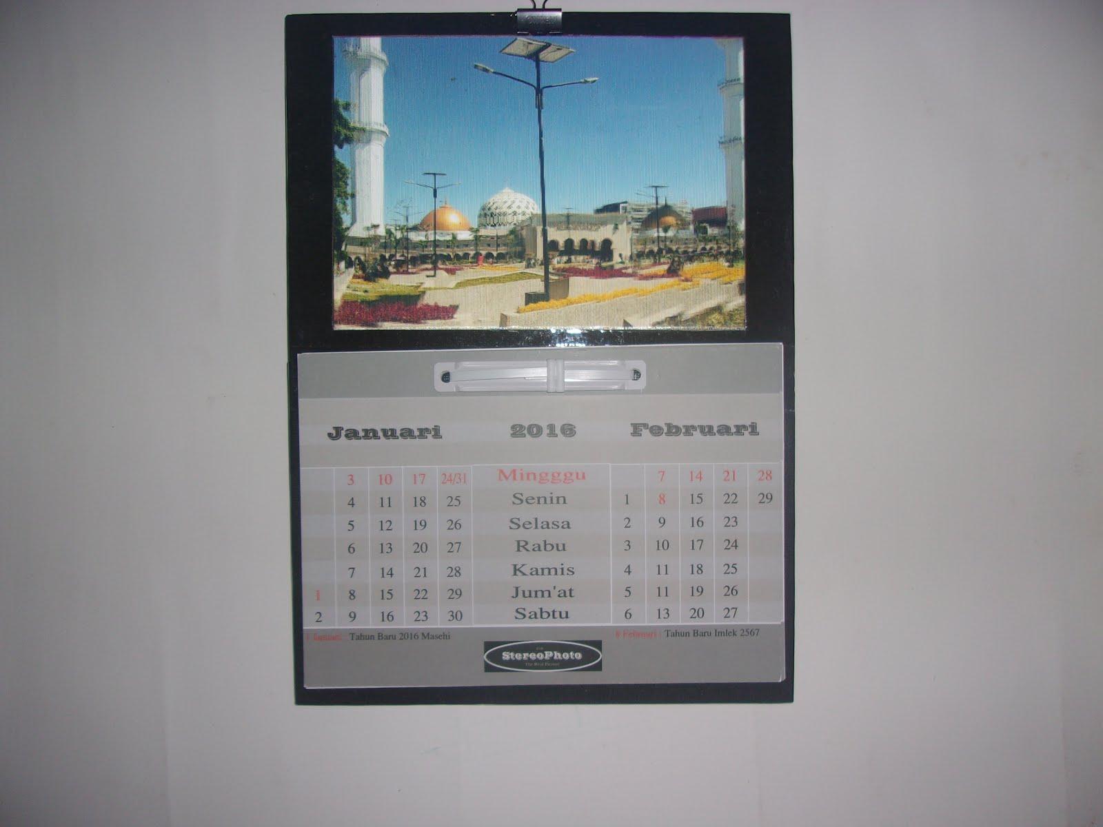 StereoPhoto - Kalender Dinding