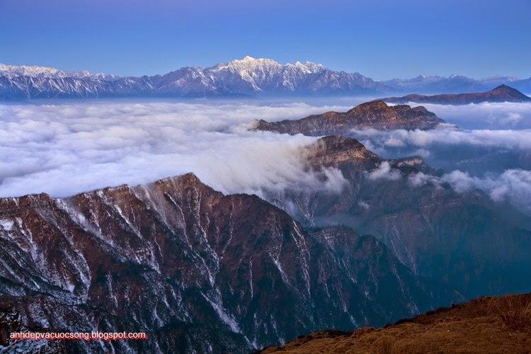 Mùa đông ở dãy núi Himalaya 13