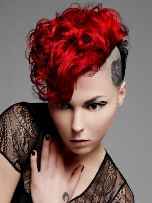peinados emo mujer