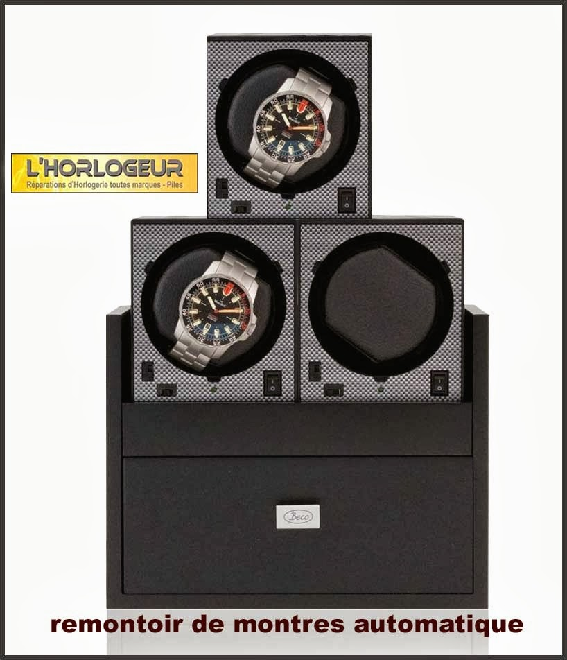 l 39 horlogeur remontoir de montre automatique watch winder boxy beco en vente chez l 39 horlogeur. Black Bedroom Furniture Sets. Home Design Ideas