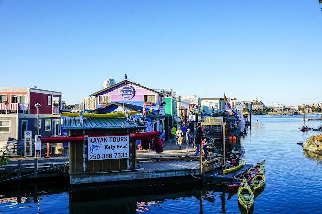 Victoria-British Columbia-Canada-Fisherman's Wharf