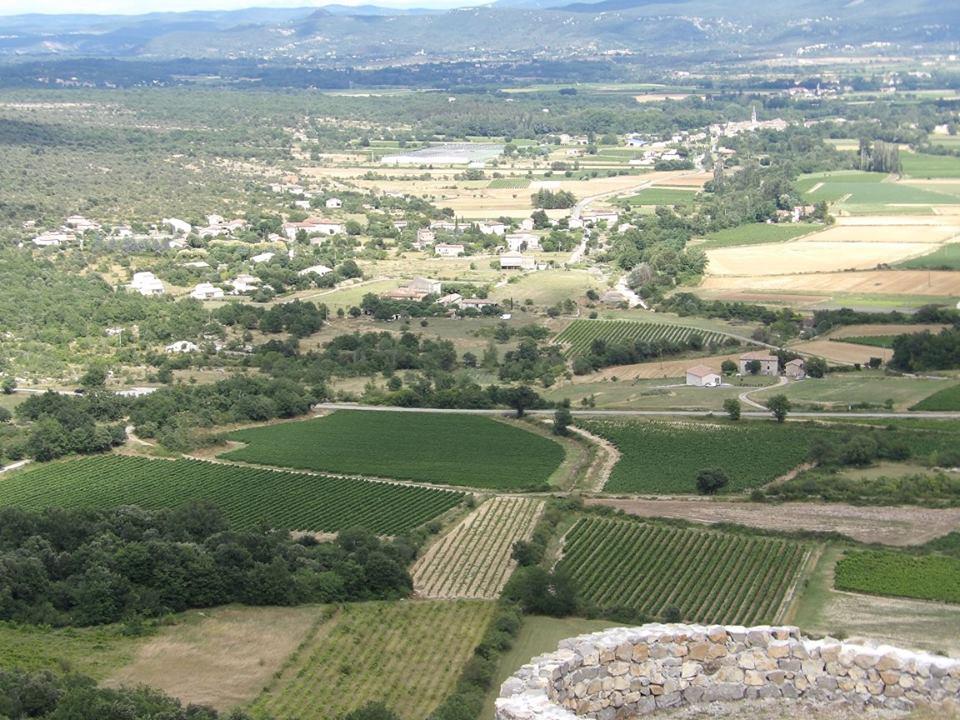 La plaine de Jalès