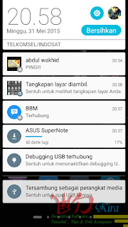 Upgrade Lolipop Asus Zenfone 5