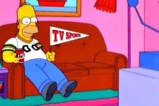 Homer loves sports as much as I do...