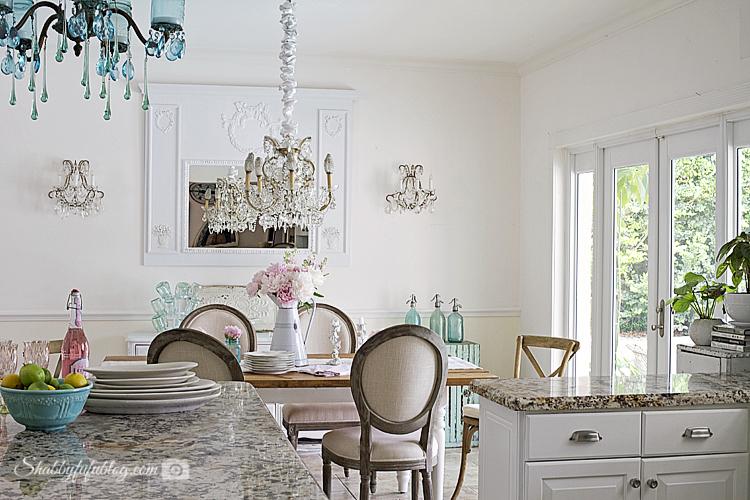 Coastal Cottage French Style Kitchen