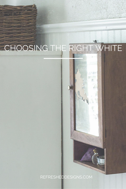 Refreshed Designs: choosing the right white paint