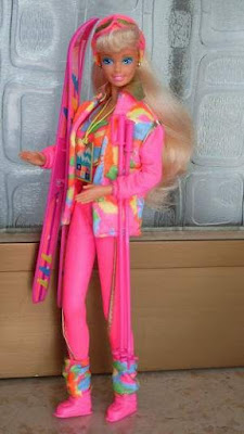 70s ski barbie