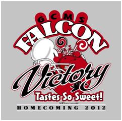 homecoming 2012 t shirts gcms high school news