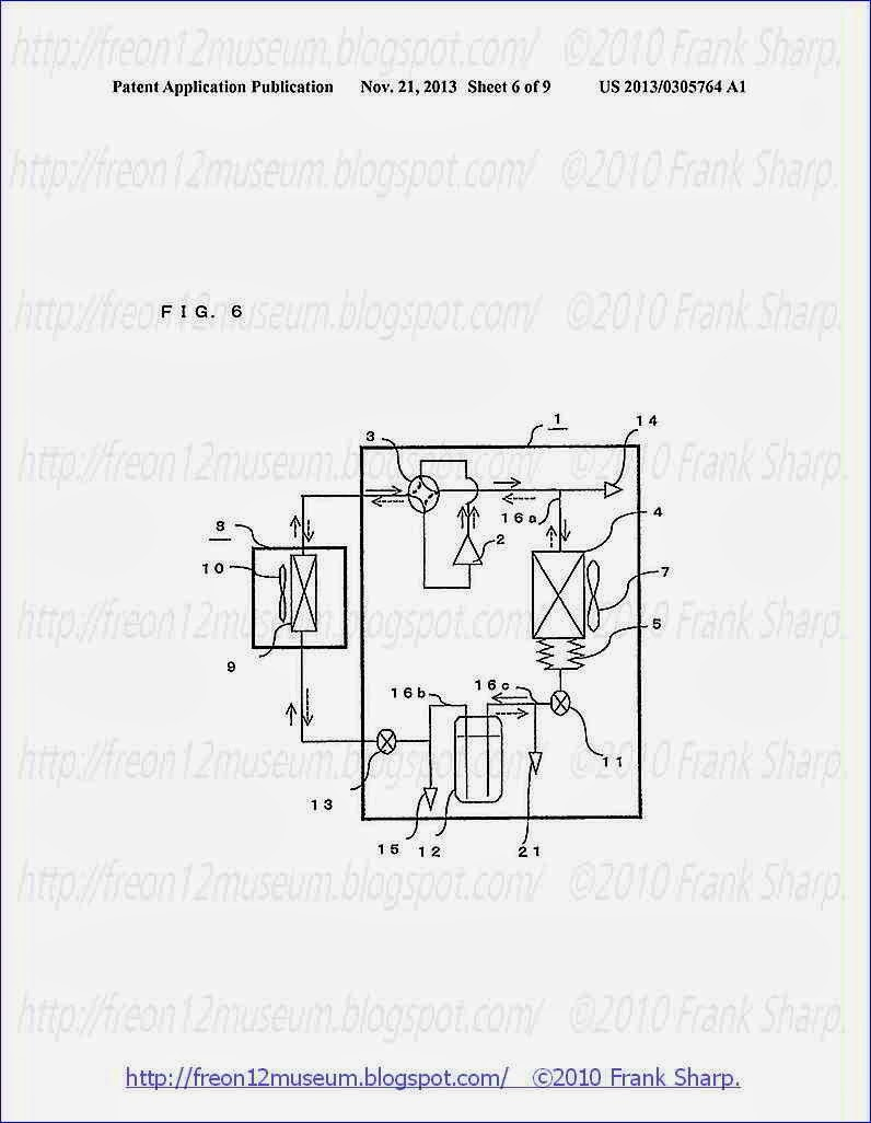 Under The Ice Mitsubishi Electric Mrslim Pka Rp100kal Led Light Bulb Circuit Diagram Besides Air Conditioning Refrigeration 6 Is A Schematic Illustrating Another Exemplary Configuration Of Apparatus According To Present Invention