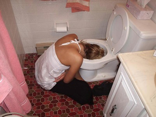 People Who Passed Out Drunk On New Years Eve