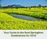 10 สถานที่ชมดอกไม้ในฤดูใบไม้ผลิ