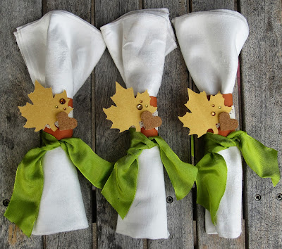 Create Your Own Napkin Rings by Christine Meyer for CutCardStock