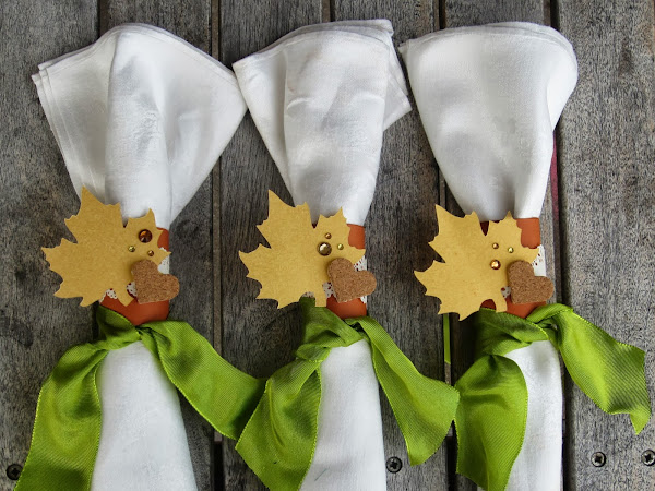 Create Your Own Napkin Rings