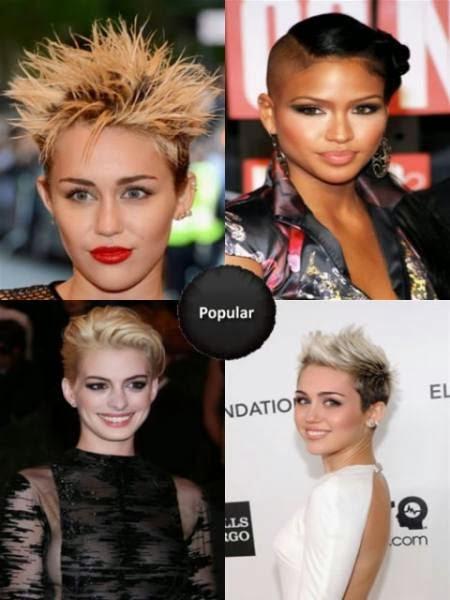 Cortes de cabello corto para Mujeres 2014