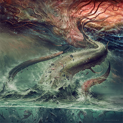 The 10 Worst Album Cover Artworks of 2014: 05. Sulphur Aeon - Gateway to the Antisphere