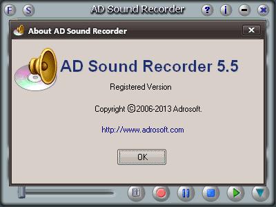 Обновлено Adrosoft AD Sound Recorder 5.5.4 + crack. Причина поднятия релиз