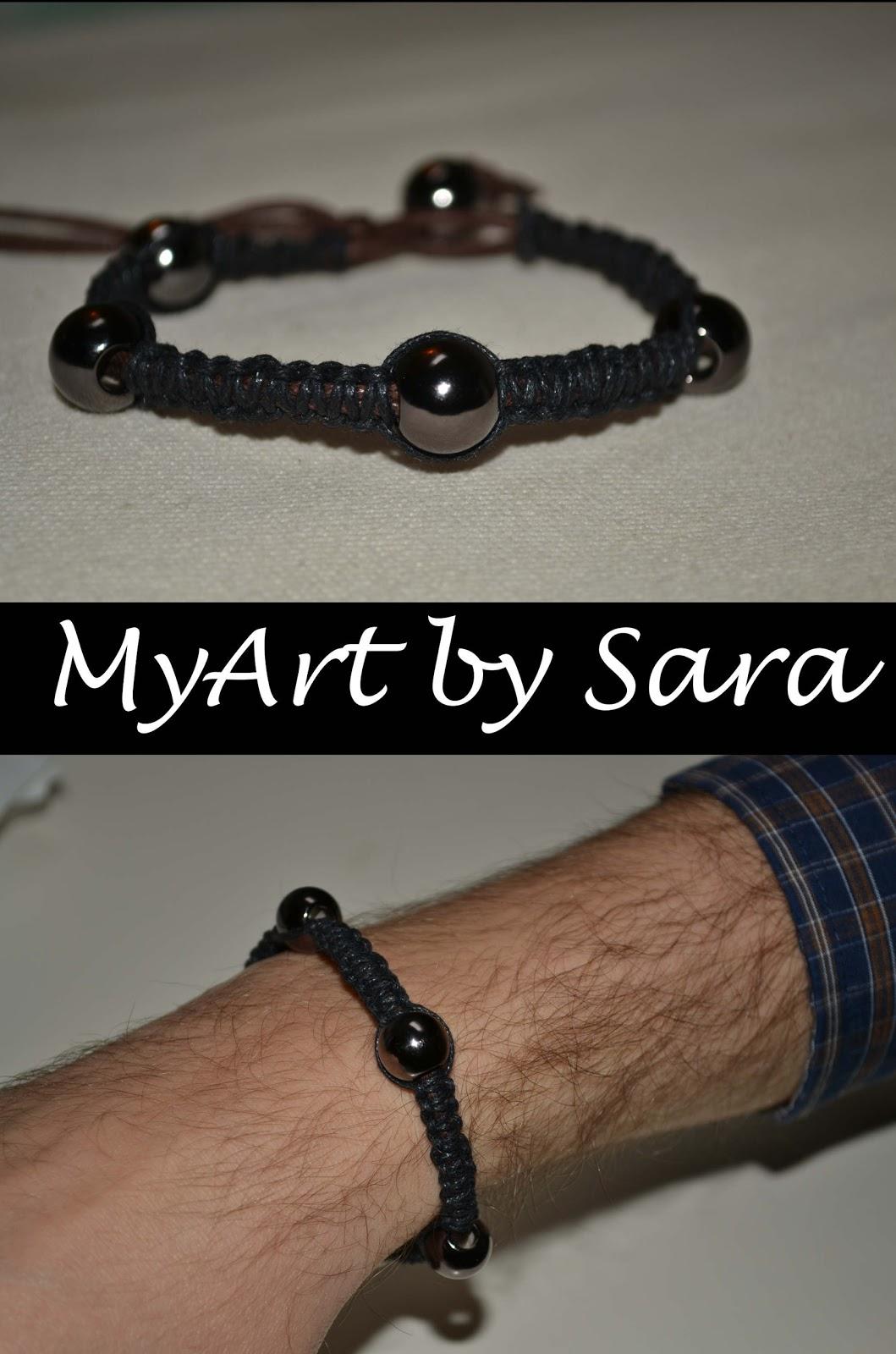 Bien-aimé MyArt by Sara: Braccialetti da uomo ZX25