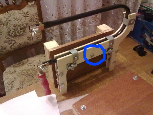 Лобзиковый станок из ручного электролобзика