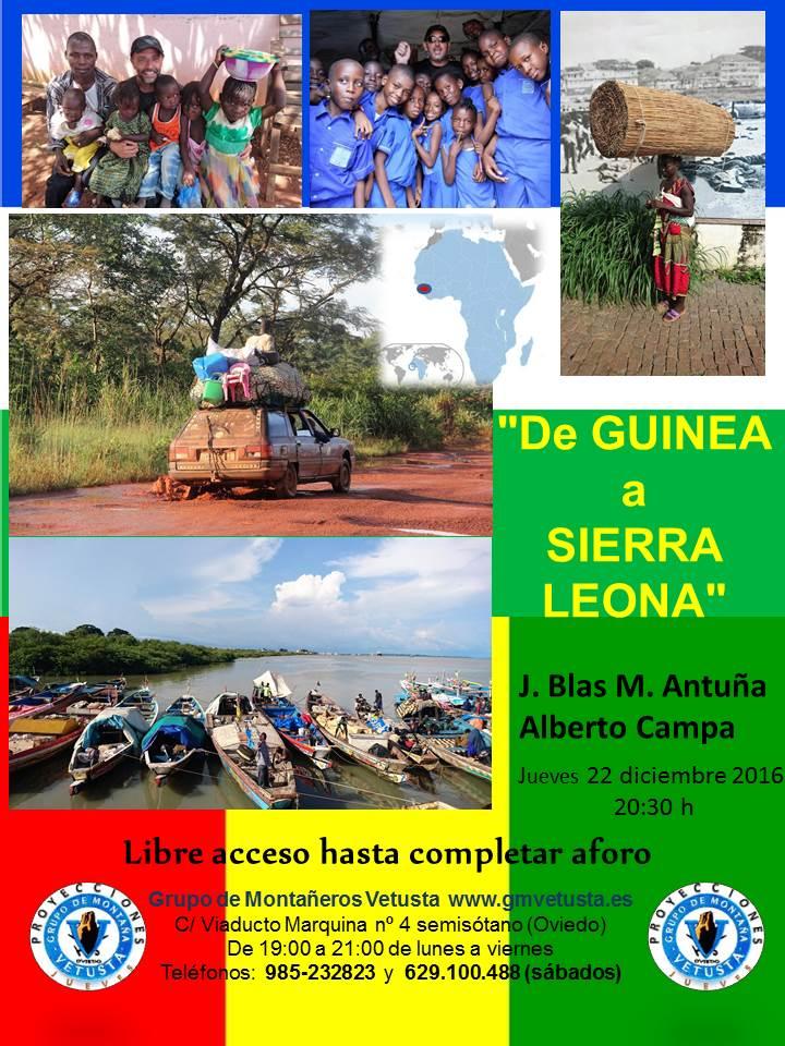 "PROYECCION ""GUINEA Y SIERRA LEONA"""