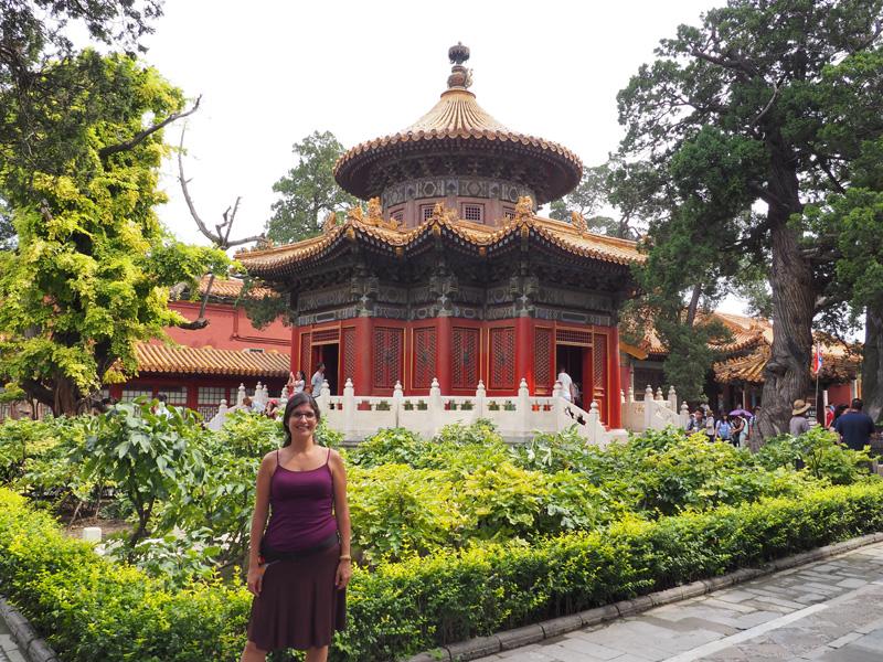Los viajes de david y neus china 2 pek n ii la ciudad for Jardin imperial chino