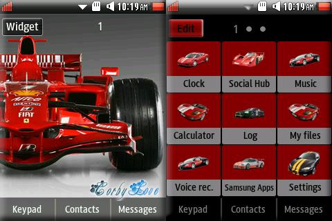 CORBY 2 THEMES : Formula 1 Theme by Anonymous