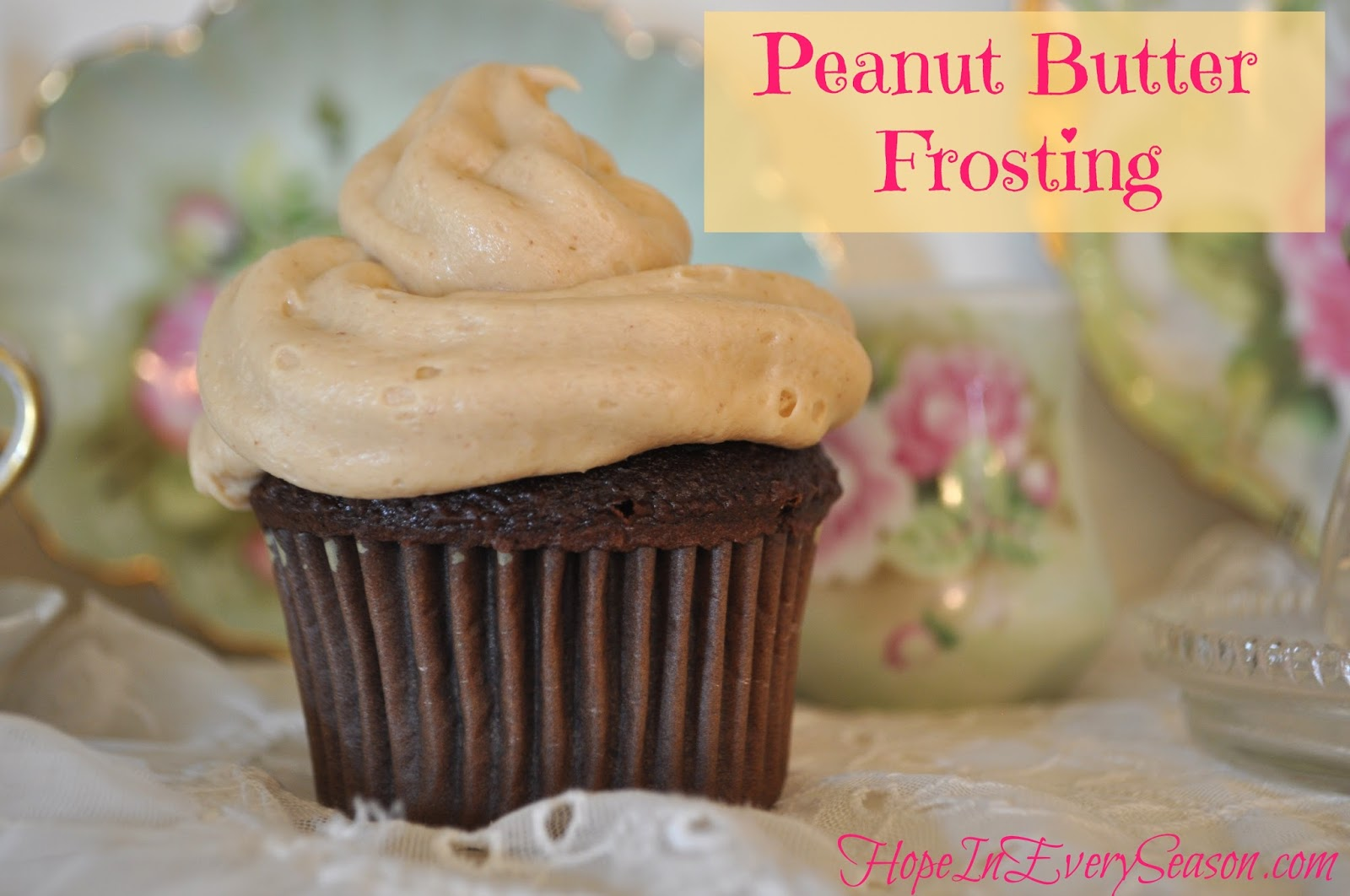 Hope In Every Season: Peanut Butter Frosting