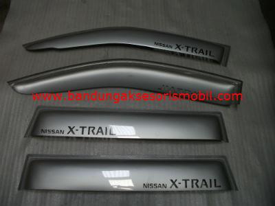 Talang Air X-Trail Silver Mugen 3M Depan Belakang