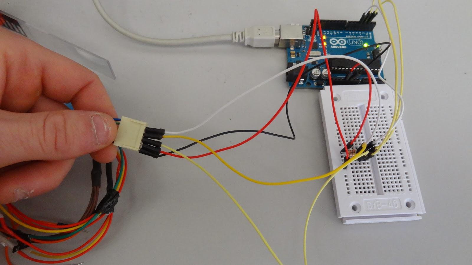 Robokite Mars 2014 Simulation D39un Circuit Purementanalogique 3 Rsistances De Pull Up Et Carte Dacquisition Arduino