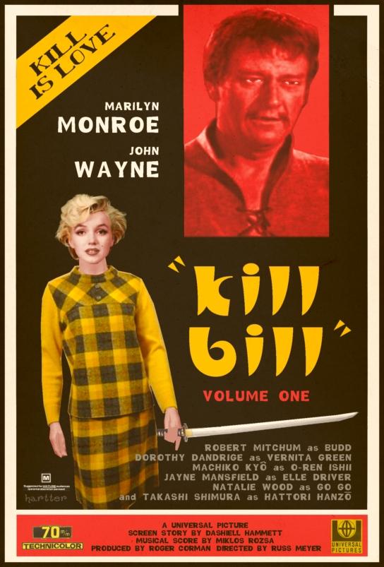 Poster alternativo de Kill Bill