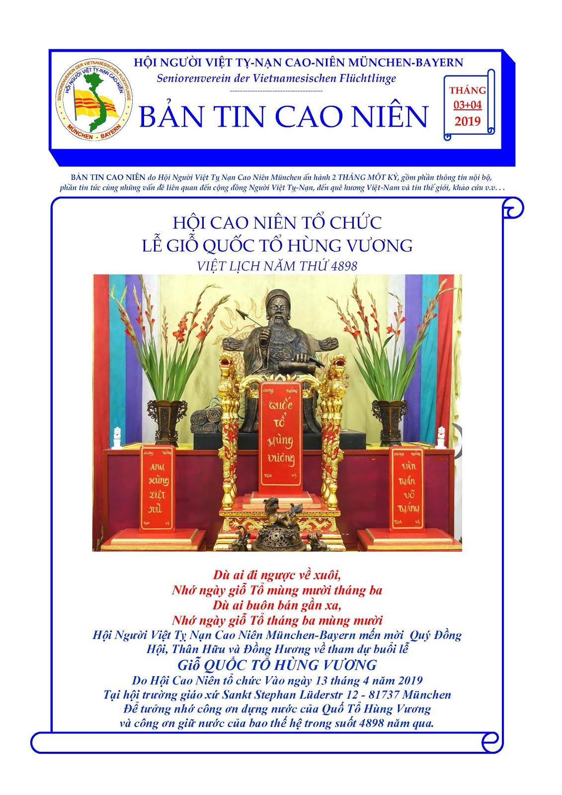 BẢN TIN CAO NIÊN 03-04-2019