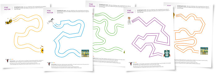 Teaching Blog Addict: Free Maze Worksheets (great fine motor practice ...